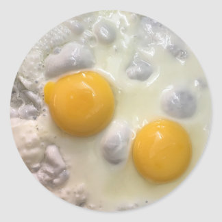 Fried Eggs Sunny Side Up Foodie Stickers