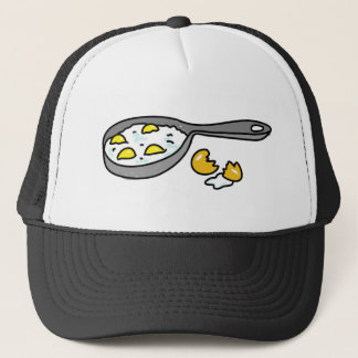 fried-eggs trucker hat