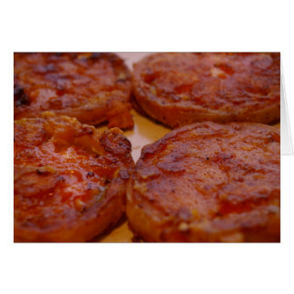 Fried green tomatoes note card