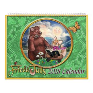 Frieda Tails 2018 calendar
