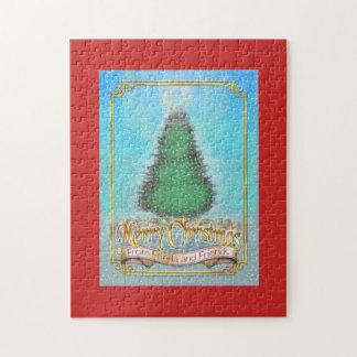 Frieda Tails Christmas puzzle - Snow
