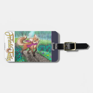 Frieda Tails luggage tag