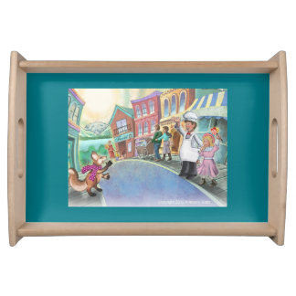 Frieda Tails serving tray - Happy Town
