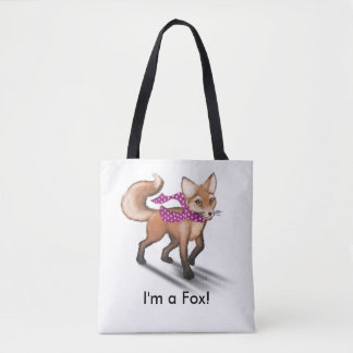 Frieda Tails tote bag