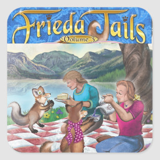 Frieda Tails Volume 3 Tea Party sticker
