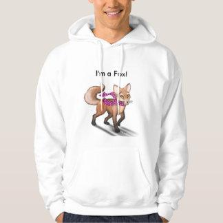 Frieda the Fox hoodie - I'm a Fox!