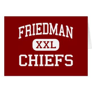 Friedman - Chiefs - Middle - Taunton Massachusetts Greeting Cards