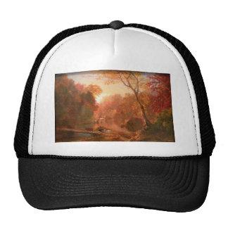 Friedrich Church Landscape painting Trucker Hat