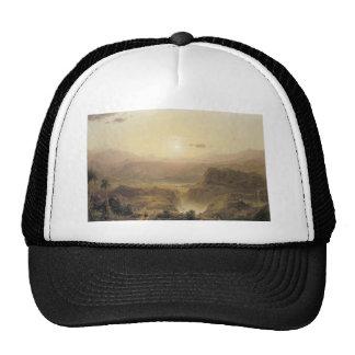 Friedrich Church Landscape painting Cap