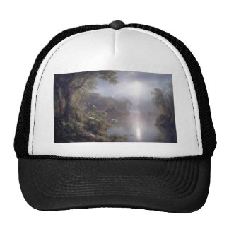 Friedrich Church Landscape painting Cap