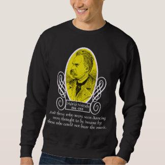Friedrich Nietzsche Pullover Sweatshirts