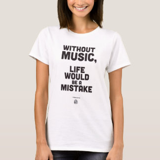Friedrich Nietzsche Quote - T-shirt