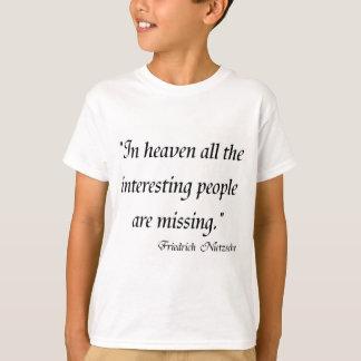 Friedrich Nietzsche Quotes on T-shirts! T-Shirt