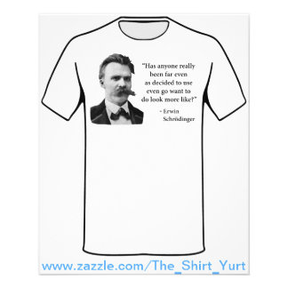 Friedrich Nietzsche Troll Quote 11.5 Cm X 14 Cm Flyer
