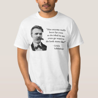 Friedrich Nietzsche Troll Quote T-Shirt