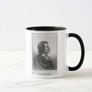 Friedrich Schiller  engraved by Massol Mug
