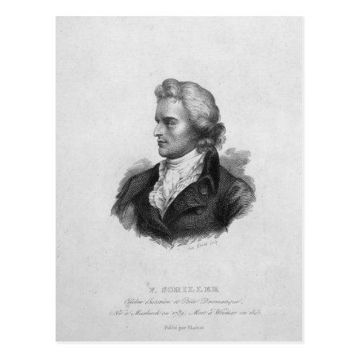 Friedrich Schiller Post Card
