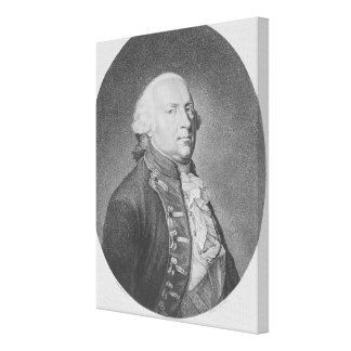 Friedrich Wilhelm II of Prussia Canvas Print