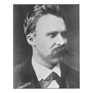 Friedrich Wilhelm Nietzsche (1844-1900) 1873 (b/w