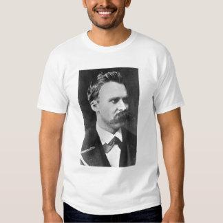 Friedrich Wilhelm Nietzsche (1844-1900) 1873 (b/w Shirt