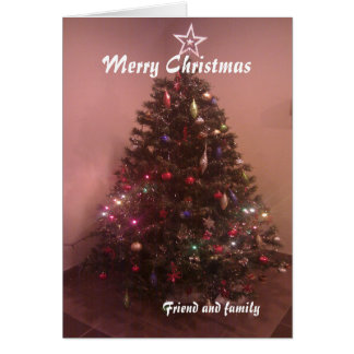 Friend and family Christmas cards