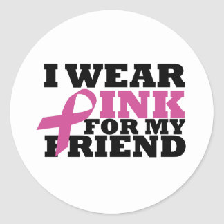 friend classic round sticker