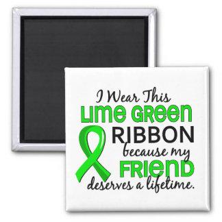 Friend Deserves Lifetime Lymphoma Refrigerator Magnet