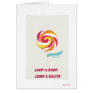 friend forever greeting card