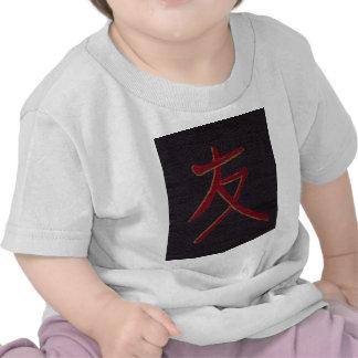 friend freindship chinese symbol tee shirt