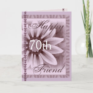 Friends 70th Birthday Cards