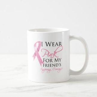 Friend Inspiring Courage Breast Cancer Mug