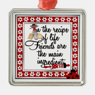 Friend Kitchen Ornament