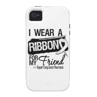 Friend Lung Cancer Ribbon Case-Mate iPhone 4 Cover