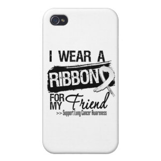 Friend Lung Cancer Ribbon iPhone 4 Case