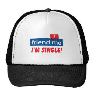 Friend Me, I'm Single! Cap