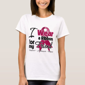 Friend - Multiple Myeloma Ribbon T-Shirt