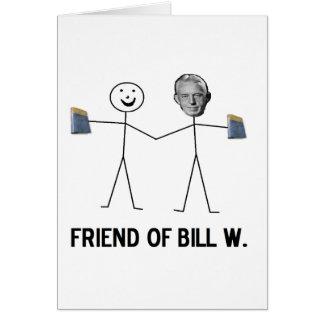 Friend of Bill W. - Celebrate Recovery Card
