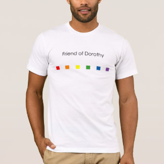 Friend of Dorothy Rainbow - Light T-Shirt