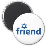 Friend of Israel Fridge Magnet