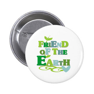 Friend of the Earth 6 Cm Round Badge