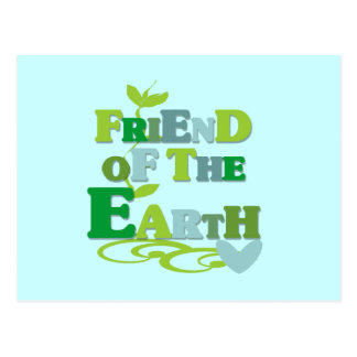 Friend of the Earth T-shirts and Gifts Postcard