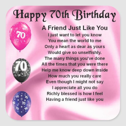 Http Www Edsfashions Co Uk Gift Ideas For Girls Age 10: 70th-birthday-poem Images