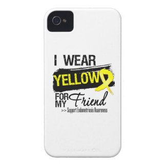 Friend Yellow Ribbon Endometriosis iPhone 4 Case-Mate Cases