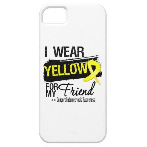 Friend Yellow Ribbon Endometriosis iPhone 5 Cover