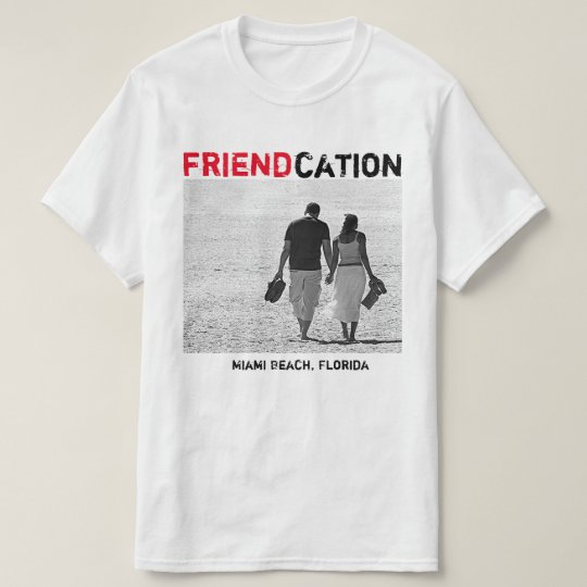 Friendcation add photo T-Shirt