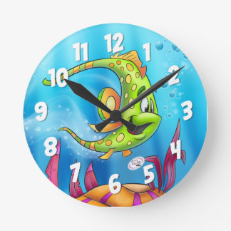 FriendFish clock cute