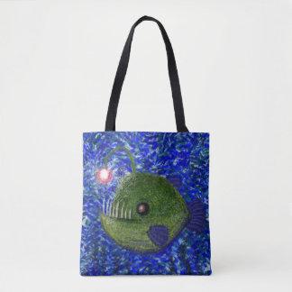Friendly Angler Tote Bag