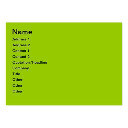 Friendly Bear Card Business Card