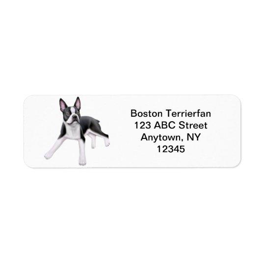 Friendly Boston Terrier Customisable