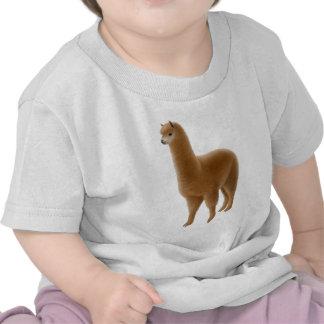 Friendly Brown Alpaca Infant T-Shirt
